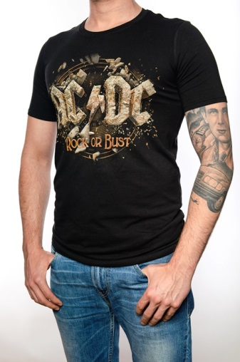 AC/DC Rock or Bust T-Shirt