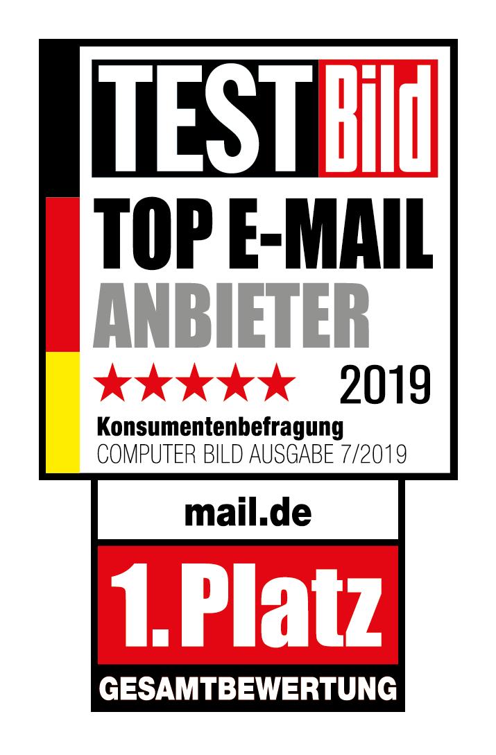 TestBild Sieger mail.de